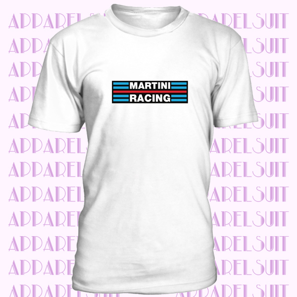 Martini Racing T-Shirt Car Enthusiast Lancia Rally VARIOUS SIZES & COLOURS