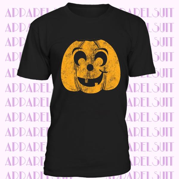 Orange Pumpkin Face Shirt, Pumpkin T Shirt, Mens Halloween T Shirt, Pumpkin Tee, Halloween Costume Ideas, Spooky T Shirts