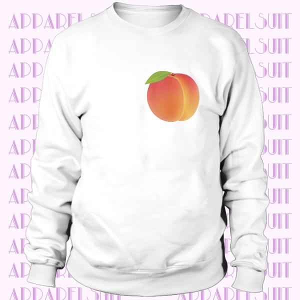 'Peach Fruit Sweatshirt