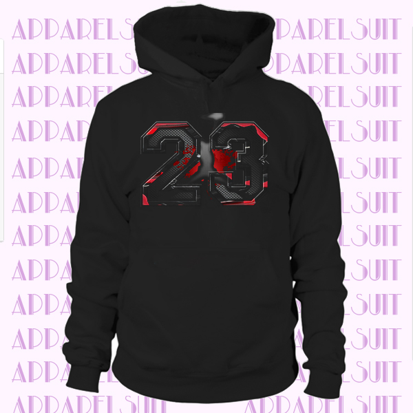 23 Match Jordan Mars 270 Shoe Tee Pro Club Big and Tall Small Graphic Hoodie